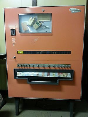 Vintage cigarette dispensing machine by Lehigh