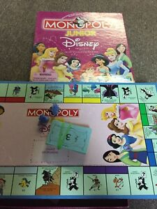Monopoly junior princesses Disney