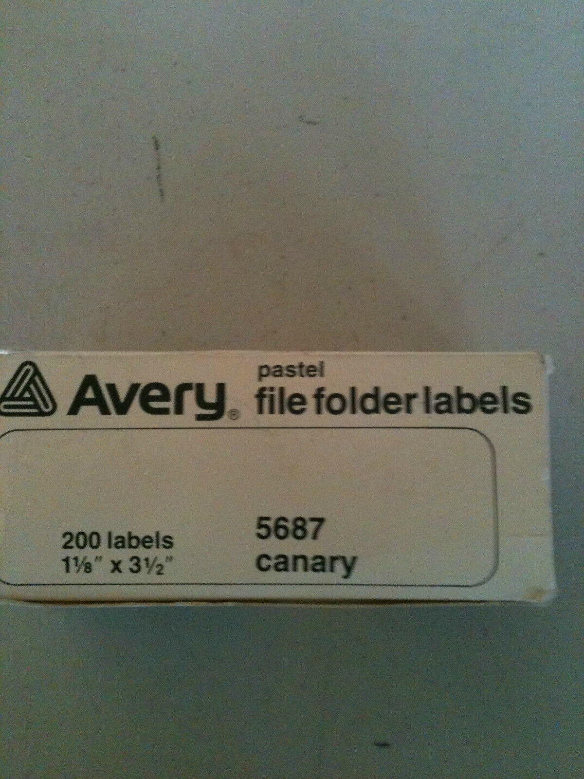 avery file folder labels 200 canary pastel color labels mp 5697 ebay