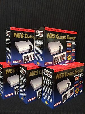 Nintendo NES Classic Edition Mini Console - 100% AUTHENTIC - BRAND NEW