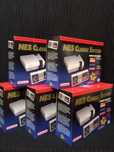 $249.00 - Nintendo NES Classic Edition Mini Console - 100% AUTHENTIC - BRAND NEW