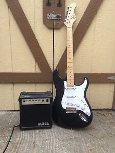 FOR SALE electric guitar + amp