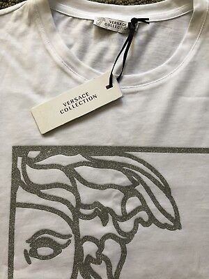 Versace Collection Angel Medusa mens t shirt S Small