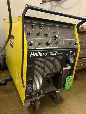 Esab Heliarc 252 Acdc Power Supply