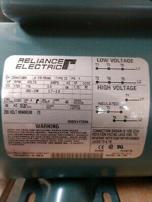 Unused Ac 13 Hp 1725 Rpm Motor.reliance Electric