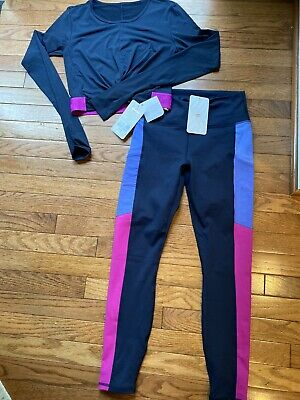 NWT ~ Fabletics 2 Piece Outfit ~ S / Small short