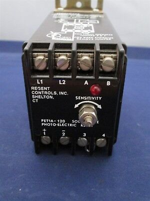 Regent Pe71a-120 Solid State Photo-electric Relay