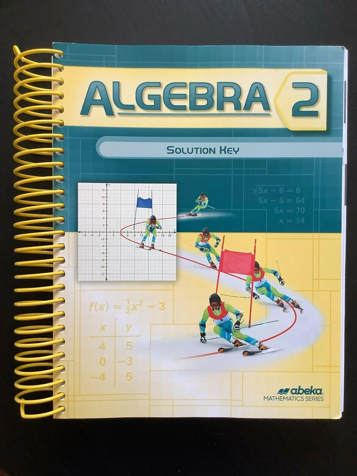 Abeka Algebra 2 Solution Key, Brand New, Current Edition. - $30.00