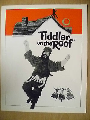 United Artists Programme- FIDDLER ON THE ROOF