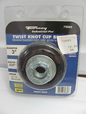 Forney 72880 Wire Cup Brush Industrial Pro Twist Knot Safety Guard 58-inch-11