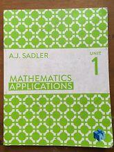 Mathematics Applications Unit 1 Cottesloe Cottesloe Area Preview