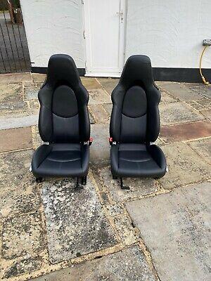 Porsche 911 997 Leather Front Seats
