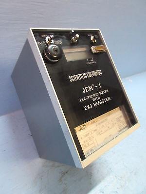 Scientific Columbus J1-312p-j Jem-1 Electronic Watthour Varhour Meter W Exj