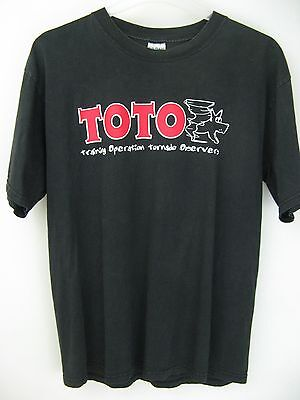 Toto BSU Storm Chasers L Short Sleeve T-Shirt Top 100% Cotton