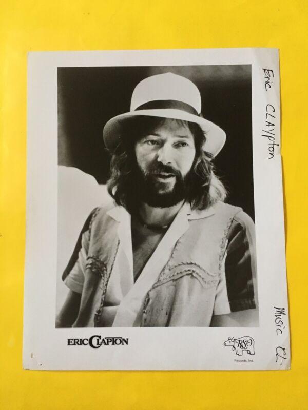 "Eric Clapton Press Photo 8x10"". See Info."