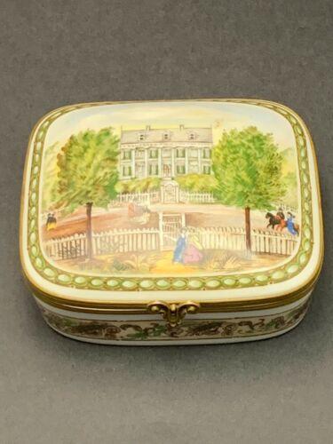 Porcelaine De Paris National Trust Limited Edition Porcelain Trinket Jewelry Box