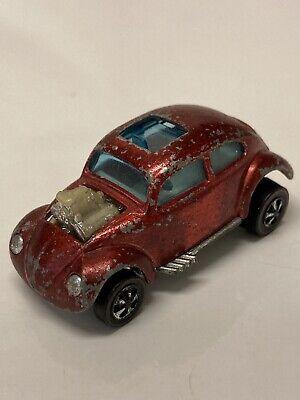 Hot Wheels Redlines Custom Volkswagen 1967 Red Made in Hong Kong