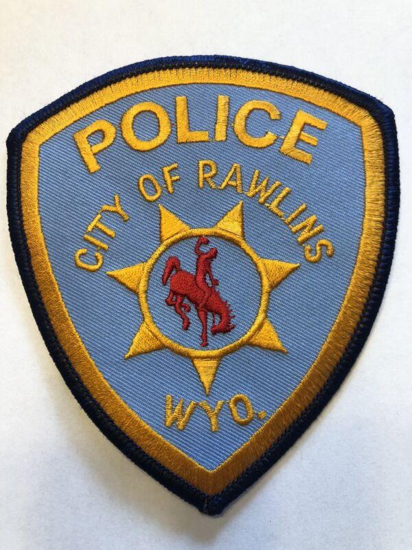 Rawlins Wyoming Police Patch