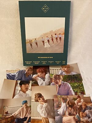 BTS OFFICIAL MEMORIES OF 2016 DVD NO PHOTOCARD + FAN MADE PHOTOS (US SHIP ONLY)