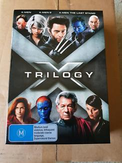 X-Men Trilogy DVD set