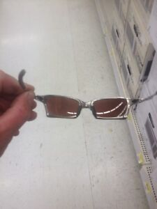 Oakley metallic polarized sunglasses