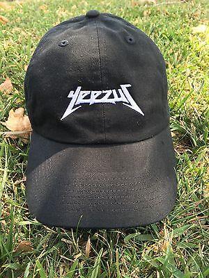 9f6b936598d Yeezus Hat Glastonbury Unstructured Strap back Dad Cap 350 750 Yeezy Kanye  White Heren  accessoires
