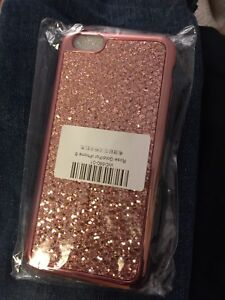 New iPhone 6 Bling Rose Gold colour phone cover