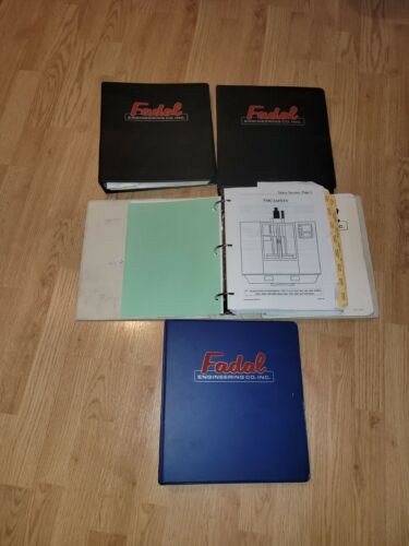 Set of Fadal VMC Series Machine User and Maintenance Manuals