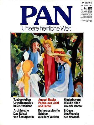 PAN - Zeitschrift für Kunst und Kultur; Nr 5_1982; August Macke; Brügge; Vatikan