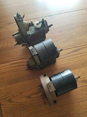 Antique American Bosch Magneto Lot. 2 Du4 Model 2 And 5. One Du6. 1910-1920