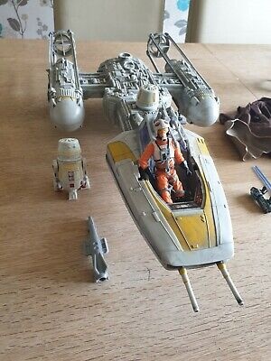 Star Wars Y Wing Fighter Hasbro 30th Anniversary