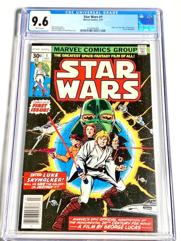 Star Wars #1 CGC 9.6 White Pages