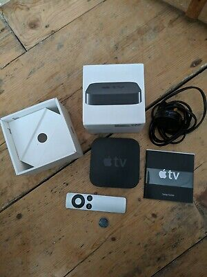 Apple TV (3rd Generation) HD Media Streamer - A1469 Remote, Power Cable included