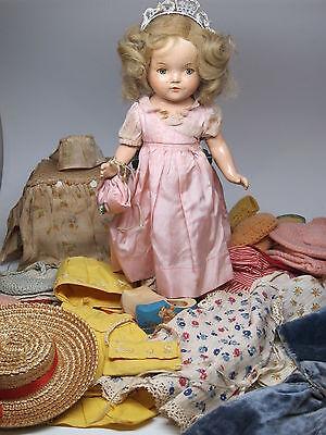 Princess Elizabeth 1930s Doll Composition Madame Alexander Betty Face + Clothes