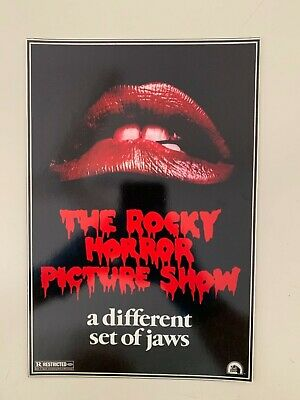 THE ROCKY HORROR PICTURE SHOW  ,RARE 1980's ART PRINT for sale  Shipping to United States