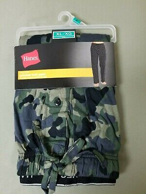 new mens hanes camo tagless printed knit lounge sleepwear -