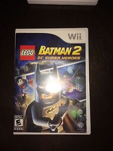 Wii!!Batman lego et need for speed