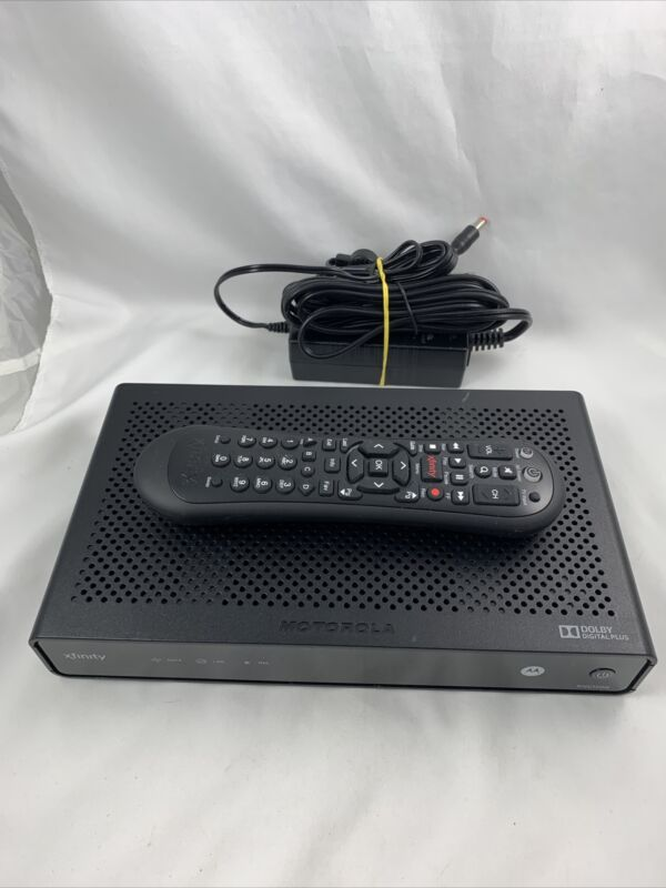 Comcast Xfinity Cable Box RNG-150N RNG150N Box, Remote, Power Supply