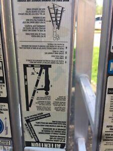 Aluminum Folding Ladder.