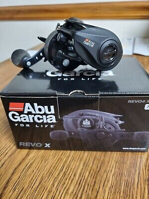 Abu Garcia Revo 4 REVO4 SX-L Side Plate Complete New Part # 1452885 LEFT HANDED