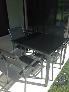 Aluminium and glass outdoor setting Trinity Park Cairns Area Preview