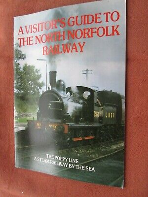 Lined Visitors Book (A Visitor's Guide to the North Norfolk Railway - The Poppy Line)