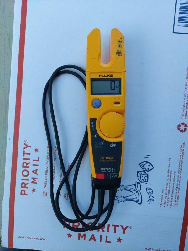 Fluke T5-1000 600v Voltage and Current Test Meter Electrical Tester