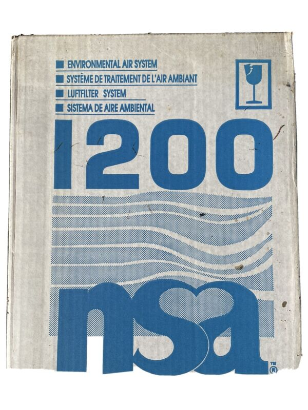 SEALED  NEW NSA Environmental Air System 1200 Air Cleaner Filter Purifier
