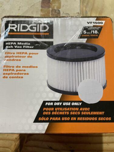 VF1500 Vacuum HEPA Media Filter For RIDGID Ash Vacuums DV0500 DV0510  - $21.00