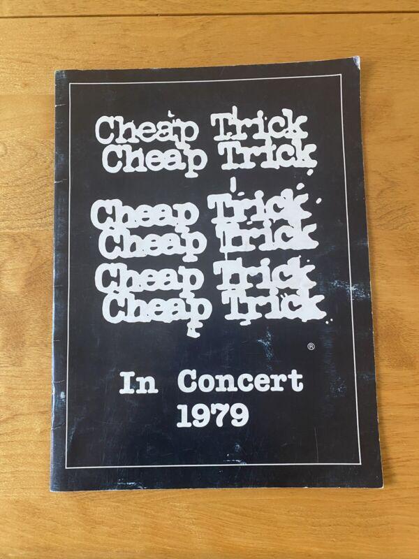 Cheap Trick In Concert 1979 Dream Police Tour Program Book Nice Shape