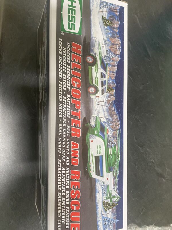 2012 Hess Truck Collectible in Box, batteries never installed