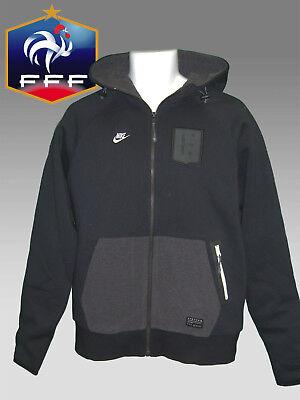 NOUVEAU Nike Vêtements de sport NSW FRANCE FOOTBALL Veste à capuche doublé