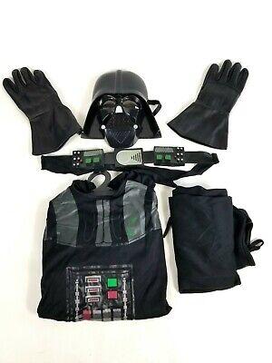 Rubies Star Wars Darth Vader Costume Cape Mask Belt Gloves Set Medium Child 8-10