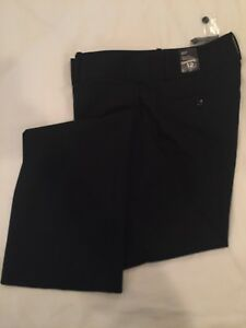 Woman's New with Tags Black Dress Pants - size 12L